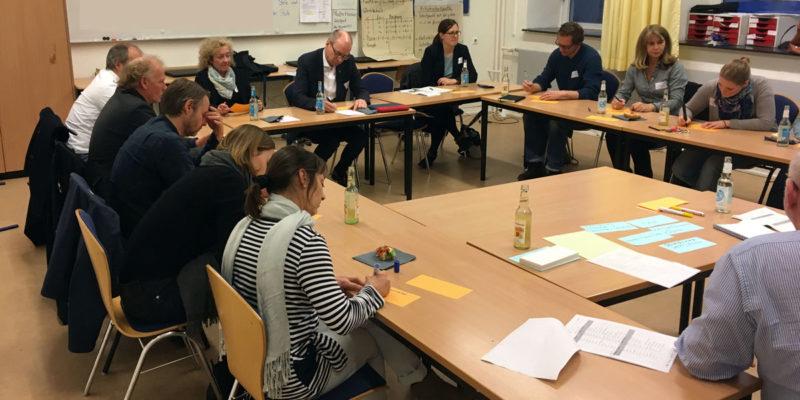 Während Des Ideenworkshops Stellten Die Teilnehmer In Drei Arbeitsgruppen Ihre Vielfältigen Ideen Vor, Die Anschließend Diskutiert Wurden.