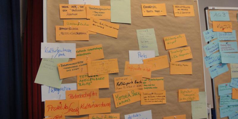 Die Gesammelten Ideen Wurden Zum Abschluss Des Workshops In Großer Runde Durch Das TransZ-Team Von HCU Und HAW Vorgestellt.