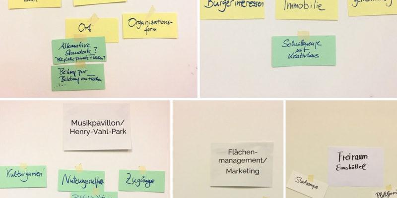 Sechs Projektideen Und Themen Wurden Im Vorfeld In Themengruppen Diskutiert Und An Diesem Abend Vorgestellt.