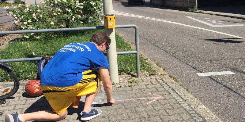 Der Weg Zum Platz Wurde Klar Aufgezeigt.