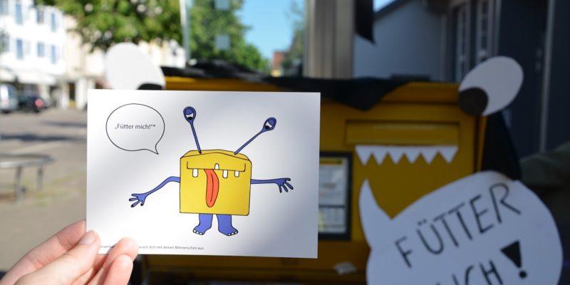 Über Postkarten Wurden Die Bewohner Dazu Aufgefordert, Ihre Wünsche Für Wangen Zu äußern.