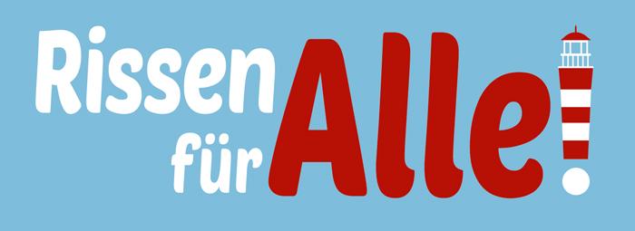 Das Motto Und Logo Der Initiative Zur Förderung Der Vernetzung Und Des Engagements In Rissen.