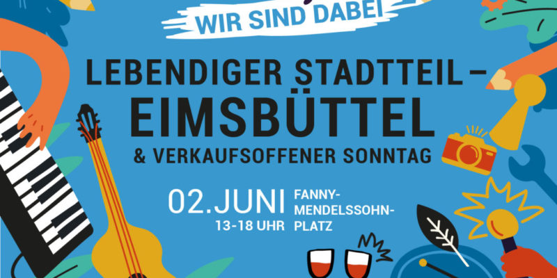 Flyer Zum Verkaufsoffenen Sonntag Am 02.06.2019 In Eimsbüttel