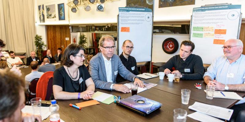 """Workshop 2 """"Finanzierung: Was Kostet Das Zentrum?"""" Mit Einem Input Von Anke Ruckes (HafenCity Hamburg GmbH)."""